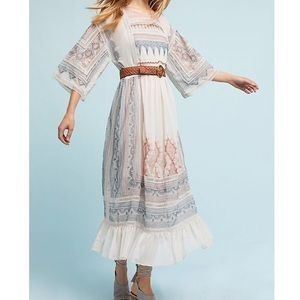 "Anthropologie Maeve ""Toronto"" Maxi Dress"